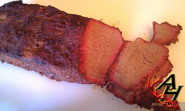 smoked venison slicing ring