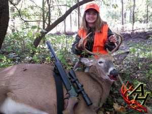 Payton Staser's deer - Average Hunter Matt