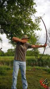 Longbow rudderbows traditional