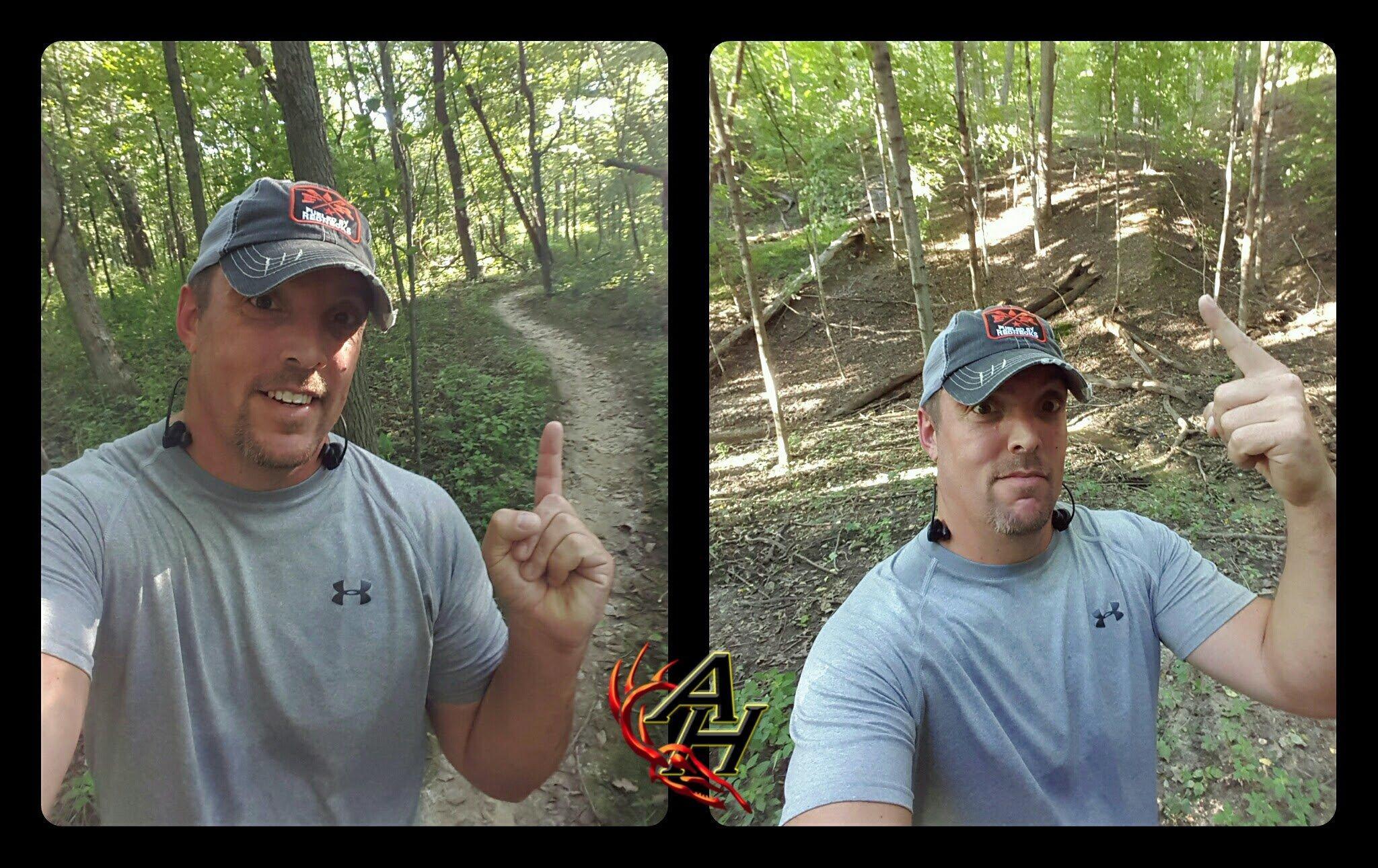 trail running hunt training
