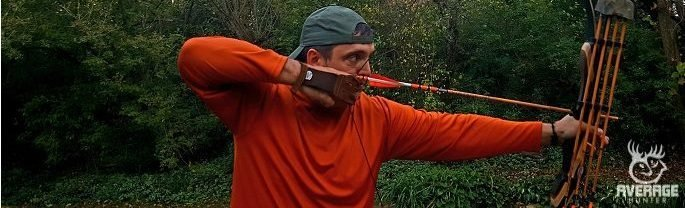 shooting a recurve longbow