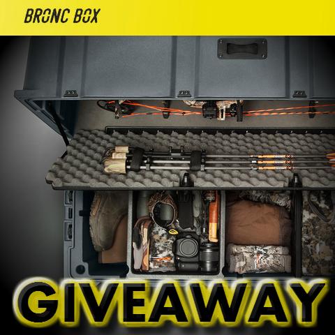 bronc box giveaway average hunter