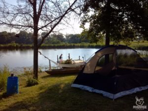 kids camping tent camp site