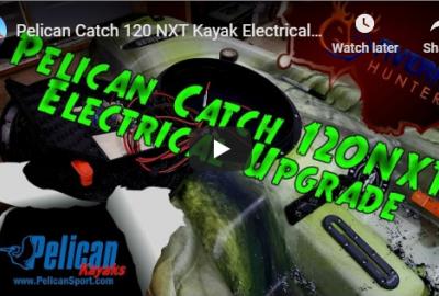 Pelican Catch 120 kayak upgrades
