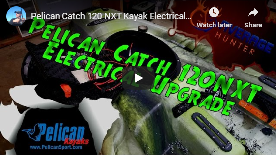 Pelican Catch 120 kayak upgrades