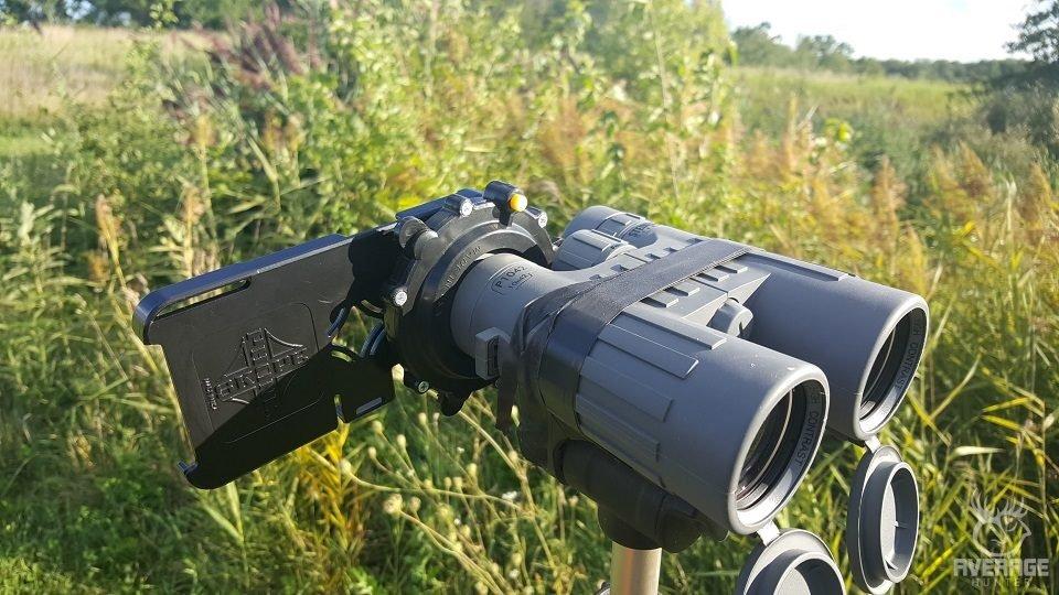 phoneskope on binoculars