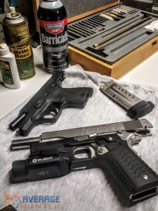 how to clean a gun and assembly