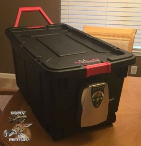 build a ozone tote for your hunting clothes
