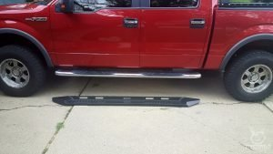 barricade hd running boards on f150