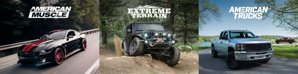American Muscle Extreme Terrain American Trucks discount code