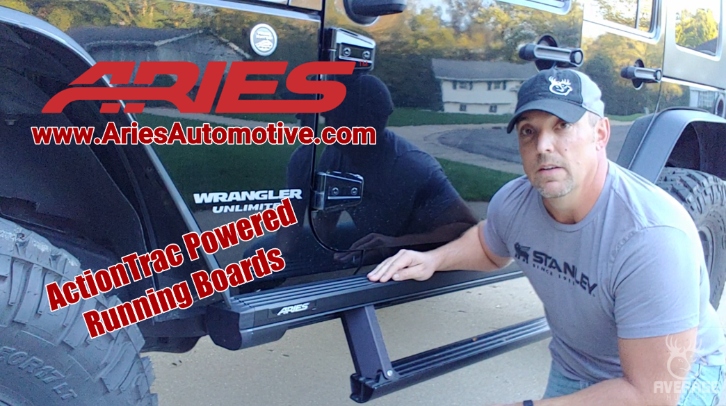 Aries Automotive ActionTrac Jeep JK Install
