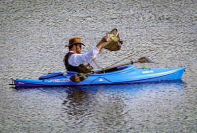 taking kids fishing